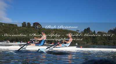 Taken during the World Masters Games - Rowing, Lake Karapiro, Cambridge, New Zealand; ©  Rob Bristow; Frame 1305 - Taken on: Friday - 28/04/2017-  at 09:22.27