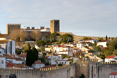 Óbidos, one of the most beautiful medieval villages in Portugal, taken to the moors in the 12th century.