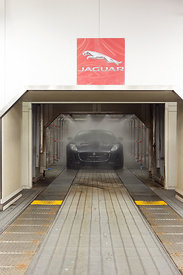 Launch feature In Indepenedent on Saturday of new Jaguar sports car.