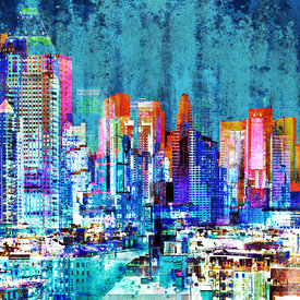 New York Panoramas Artworks