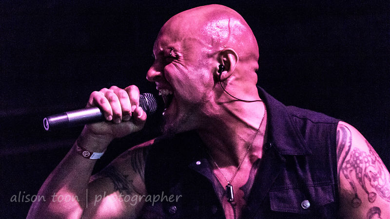 Sammy Karlin, vocals, FallRise, Sacramento, May 2015