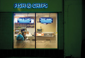 Fish and Chips, Edinburgh