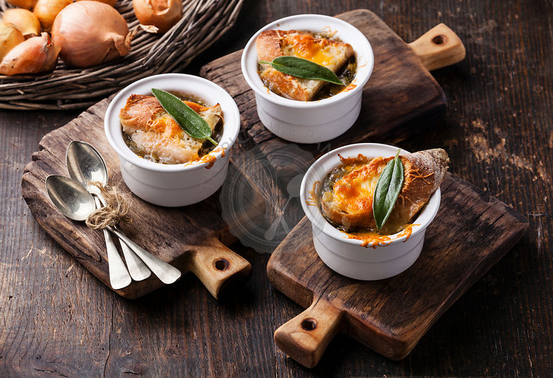 The Picture Pantry Food Stock Photo Library | Onion soup ...