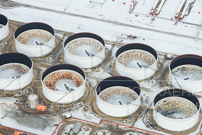 Crude Oil Tankage in Winter