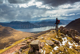 Loch Torridon in the Scottish Highlands - Mountain Photography