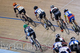 U17 Men Points Race. 2016/2017 Track O-Cup #3/Eastern Track Challenge, Mattamy National Cycling Centre, Milton, On, February 12, 2017