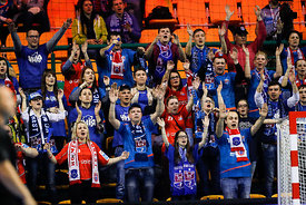 Fans during the Final Tournament - Final Four - SEHA - Gazprom league, Bronze Medal Match Meshkov Brest - PPD Zagreb, Belarus, 09.04.2017, Mandatory Credit ©SEHA/ Stanko Gruden..