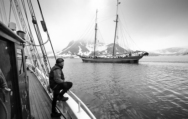 Spielberg, Svalbard in summer