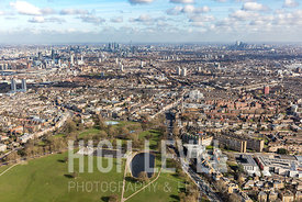 Aerial Photography Taken In and Around Lambeth, UK
