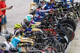 Cat 1 Women Points Race / Omni I. Eastern Track Challenge / O-Cup #3, February 10, 2019