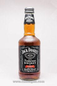 isolated jack daniels