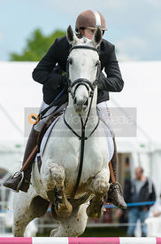 Angus Smales and A BIT MUCH - Rockingham Castle International Horse Trials 2016