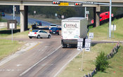 Central Truck at corner of Loop 12 and Highway 114 in Irving, Texas