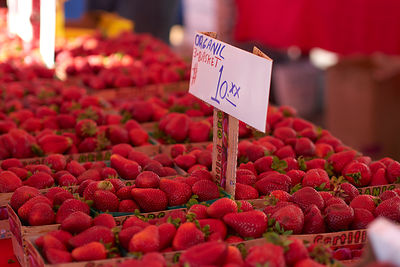 Strawberries at the Farmer's Market