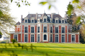 photo: le chateau de la Gaudiniere