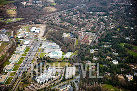 Aerial Photography Taken In and Around Byfleet, UK
