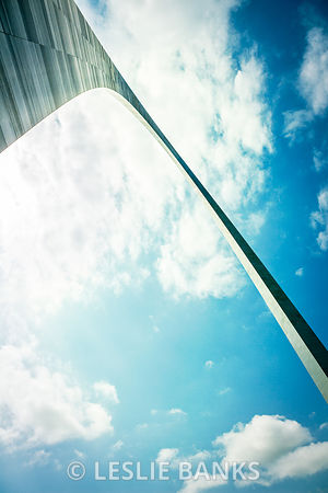 St. Louis Arch Detail
