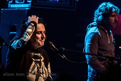 Steve Hogarth and Pete Trewavas, Marillion, Friday evening, Montreal, 2015