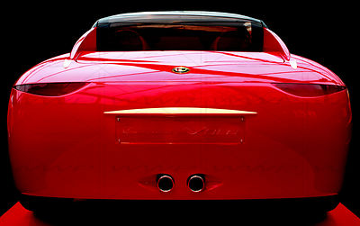 ALfa Romeo La Vola Concept Car Art Photographs