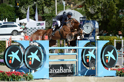 Daniel DEUSSER ,(GER), FIRST CLASS VAN EECKELGHEM during Coca-Cola Trofey competition at CSIO5* Barcelona at Real Club de Polo, Barcelona - Spain