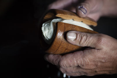 The Juhasi, Oscypek makers