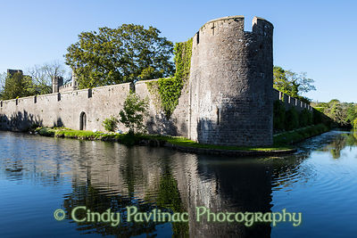 Bishops Palace Tower and Moat