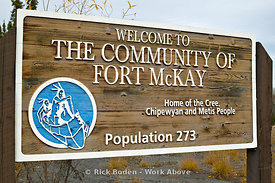 Fort McKay Sign