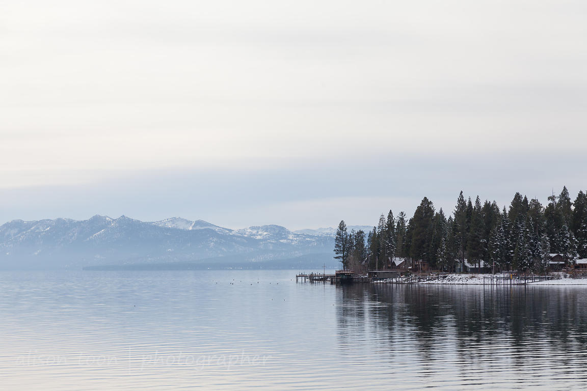 Lake Tahoe in December