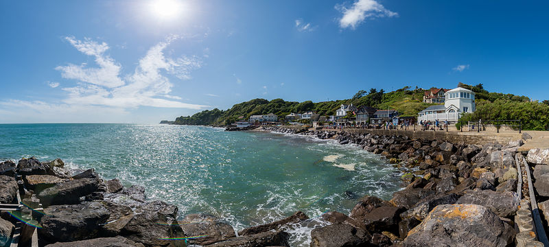 Steephill Cove; Isle of Wight