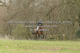 Portman Horse Trials 2014 - BE 100 Sections - (13-00 - 13-59)