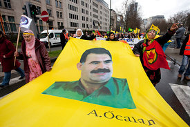Kurds demonstration in Brussels
