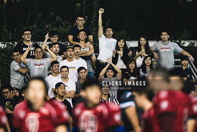 American Football League of China - Hong Kong Cobras 13:14 Hong Kong Combat Orcas at Happy Valley Pitch 6 on November 11, 2017 in Hong Kong