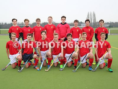 1st X1 Hockey v Rendcomb. 18th January 2017. photos