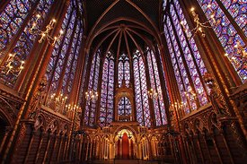 Sainte Chapelle, Paris, France 2006