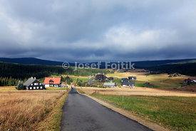 Jizerka Village, Jizerske Mountains, North Bohemia, Czech Republic, Europe