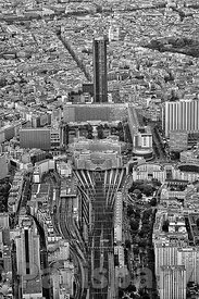 Montparnasse seen by the sky  Paris 14th