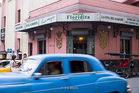 Floridita, an historic fish restaurant and cocktail bar in the older part of Havana, Cuba.  One of the favourite hangouts of Ernest Hemingway.