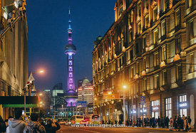 oriental pearl tower of shanghai