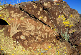 Anasazi Rock Art, Galisteo Basin, New Mexico