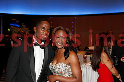 Dwight Phillips at the IAAF Gala Monaco - Athlete of the year event