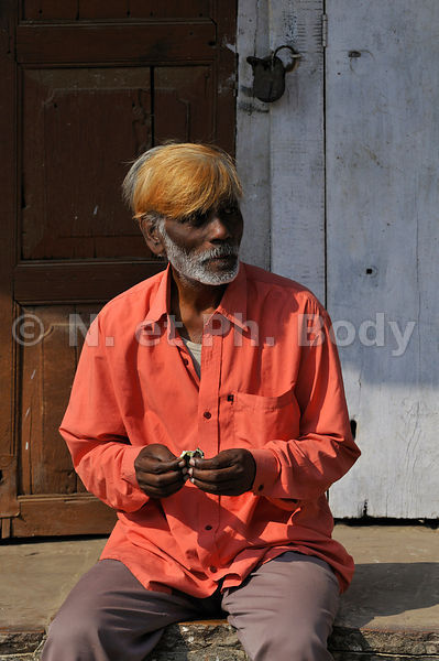 INDE, PORTRAIT HOMME//INDIA, PORTRAIT