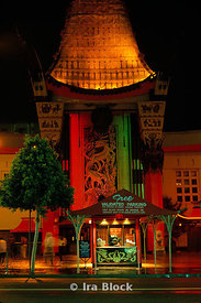 Grauman's Chinese Theater in Hollywood, California, LA