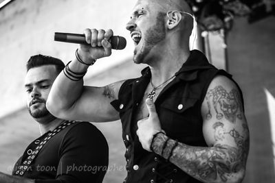 Sammy Karlin and Dave Gorman of Fallrise, Aftershock 2014