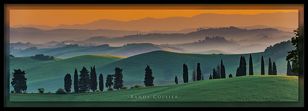 Dawn of a New Day in Tuscany