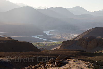 Indus River Valley near Nimmu, Ladakh, India