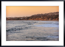 Pacific Beach Line-Up.San Diego CA-USA