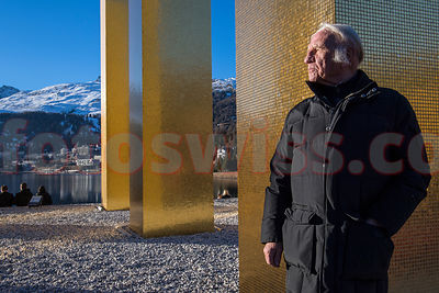 MEDIA - Heinz MACK - THE SKY OVER NINE COLUMNS - ST. MORITZ   photos
