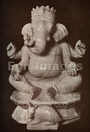 Statue of Hindu god Ganesha