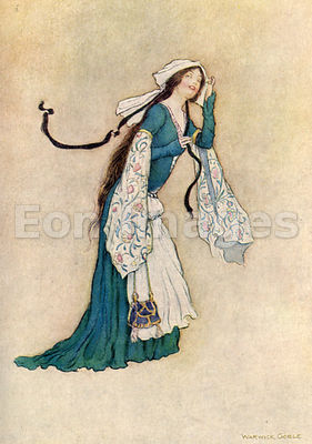 Allison by Warwick Goble