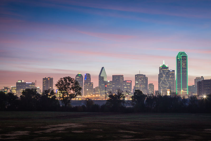 Foggy Sunrise - Dallas, Texas